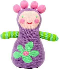 adorable knit doll by @Blabla Kids