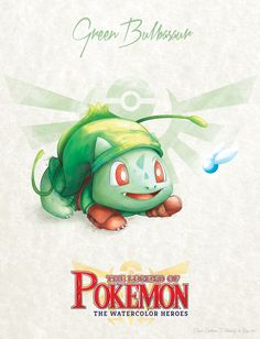 """Bulbasaur as Link - pxlbyte: """" The Legend of Pokemon Graphic designer David Pilatowsky is the man behind these Pokemon - Legend of Zelda mashups. These were of my favourites, you can find the multi-part gallery here. Pokemon Zelda, Les Pokemon, Pokemon Sets, Pokemon Comics, Cute Pokemon, Pokemon Bulbasaur, Pokemon Stuff, Digimon, Geeks"""