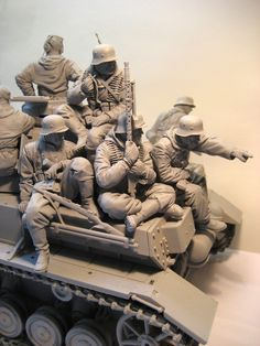 Military Modelling, Model Kits, Scale Models, Wwii, Action Figures, Miniatures, Crafts, War, Dioramas
