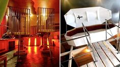 Take a Tour of The Weirdest Hotel In The World. This will definitely make you think twice before ever writing an online complaint about your service. Hotel World, Berlin, Weird, Forget, Take That, Rooms, Island, Writing, City