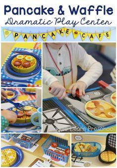 Pancake Cafe Dramatic Play