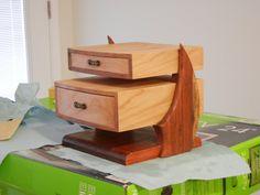 Cantilever Jewelry Box - by KirkSawdustmaker @ LumberJocks.com ~ woodworking community