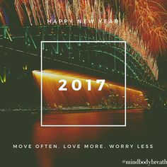 It's a new year in a few more minutes here in KL. Plenty to be grateful for this year and lots more to look forward to next year! See you all in 2017! #2017 #newyear #mindbodybreath