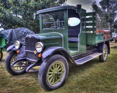 Vintage 1920's Chevrolet Pickup. Oldsmobile, hot wheels, curves, history, beautiful, trees, grass, pick-up, truck, vehicle, transportation, wheels, photo.