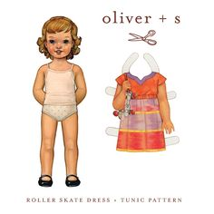 Oliver and S Roller Skate Dress and Tunic 5 - 12