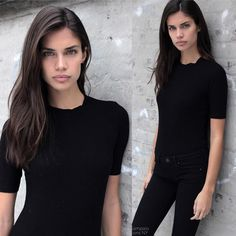 "ModelsPolaroids on Instagram: ""Sara Sampaio // The Lions NY / Models 1 London / Oui Paris / Central Lisbon. Height:5""9 Waist:23 Hips:34"""