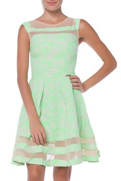 FX Missony Tonie Dress in Green - Beyond the Rack