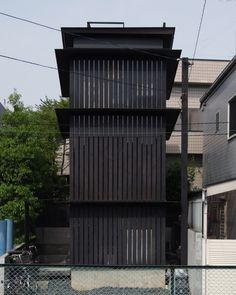 Michimasa Kawaguchi - Closed-door residence, Japan