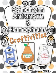 Worksheets Word Wise  With Synonym ,antonym,homophone synonym antonym homophone