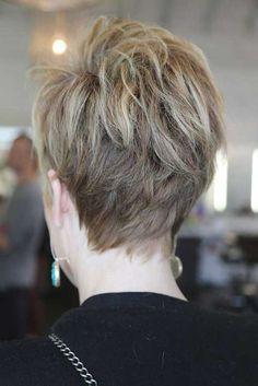 Cool back view undercut pixie haircut hairstyle ideas 34