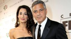 George Clooney & Amal Alamuddin Sold Wedding Photos For Charity