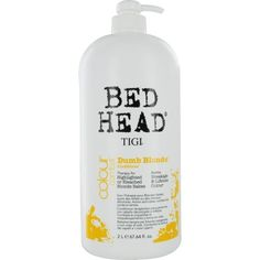 Bed Head Dumb Blonde Conditioner, 67.64 Ounce -- Details can be found by clicking on the image.