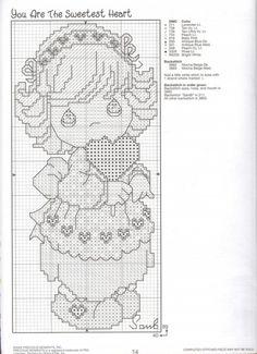 patterns precious cross stitch free  crosses moments