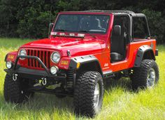 Hood Light Bar By American Outlaw Jeep Parts, Jeep Accessories, Trail Riding, Rear Window, Bar Lighting, Monster Trucks, American