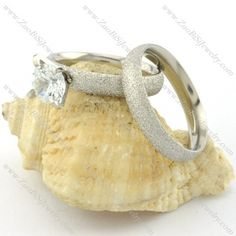 Practical abrasive blasting stainless steel wedding rings -r001097 Item No. : r001097 Market Price : US$ 25.90 Sales Price : US$ 2.59 Category : Couple Rings   Couple Ring