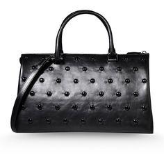 4b0e73f2ff7e8 Jil Sander Medium Leather Bag (2.395 BRL) ❤ liked on Polyvore featuring  bags