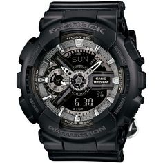 G-Shock Women's Analog-Digital Floral Black Resin Strap Watch 49x46mm... (£94) ❤ liked on Polyvore featuring jewelry, watches, no color, analog wrist watch, floral jewelry, floral watches, digital wrist watch and sport watch