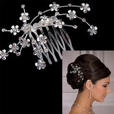 Bridal Floral Hair Comb – Best Beachy Gifts http://bestbeachygifts.com/shop/wedding/bridal-hair-comb/