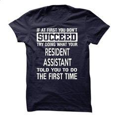 Resident Assistant T-Shirt - #sweaters #navy sweatshirt. CHECK PRICE => https://www.sunfrog.com/LifeStyle/Resident-Assistant-T-Shirt-50598904-Guys.html?60505