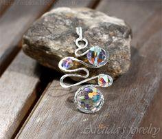 Arctida's creations: Swirly jewelry. Mystic Quartz Mystic Topaz ...