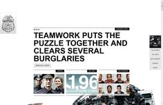 ★ Milwaukee Police Department | http://www.milwaukeepolicenews.com/ | Difficult matter, good responsive design
