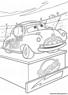 Cars 2 Printable Coloring Pages   Coloring pages Cars Disney Pixar - Page 2 - Printable Coloring Pages ...