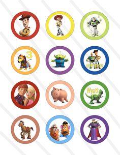 imagenes de toy story para cup cakes para imprimir - Buscar con Google