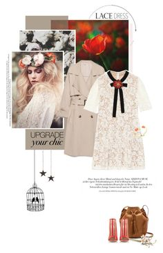 """Lovely Lace Dress"" by pippi-loves-music ❤ liked on Polyvore featuring mode, Gucci, J.Crew, Kate Spade, Konstantina Tzovolou en lacedress"