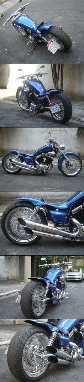 #Yamaha #Virago #Custom #535 #Chopper #Motorcycle