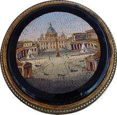 glass micro mosaic