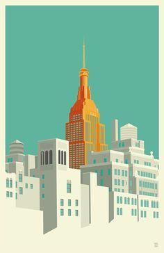 Vector Serigrafia New Art Poster! Building Illustration, City Illustration, Gropius Bau, City Poster, Kunst Poster, Empire State Building, New Art, Graphic Art, Graphic Design