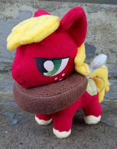 Custom 9 inch My Little Pony Friendship is Magic Plushie. $60.00, via Etsy.