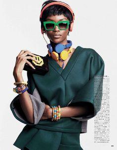 Sport-Chic Autumn Editorials : Vogue Japan 'Sports Rave' #sportfashion #ranitasobanska