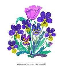 tulip folk embroidery vector ile ilgili görsel sonucu