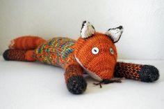 Идеи для вязания. Источник вдохновения – лиса - Ярмарка Мастеров - ручная работа, handmade