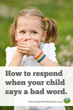 Learn why kids use bad words, and how your response can help them break the habit!