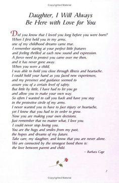 The 25 best Poem for my daughter - Single Mom Quotes From Daughter - Ideas of Single Mom Quotes From Daughter - The 25 best Poem for my daughter Mom Quotes From Daughter, Letter To My Daughter, I Love My Daughter, Mother Daughter Poems, Beautiful Daughter Quotes, Happy Birthday Daughter From Mom, Prayers For My Daughter, Mother Daughter Wedding, Brother Birthday