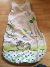 Vertbaudet Unisex Hedgehog sleeping bag 2.5 Tog 0-6 Months