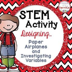 You know kids love to throw paper airplanes! Take advantage of that energy with this STEM activity!**Please note: This Activity package is available in a money-saving bundle!***Please note: This STEM package has been completely updated! The specific updates are listed below!