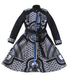African Print Dresses, African Prints, African Dress, African Traditional Wear, Shweshwe Dresses, Trench Coat Style, Blanket Coat, Minimalist Wardrobe, Kid Art
