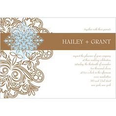 Storkie.com. Affinity II.��Featuring intricate swirl accents on the left side of the wedding invitations. A bold stripe highlights the couple's names. Mix and match various color options to create the perfect unique invitation for your special day.��View this invitation from Storkie.com