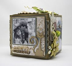Boxes For Decoration And Crafts Open Shadow Box 7 Gypsies No Pictures Just Pretty Paper And