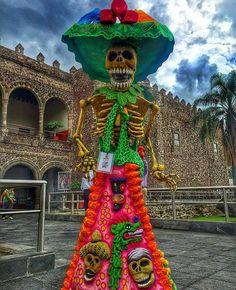 Catrina gigante, palacio de cortèz (Cuernavaca, Morelos)