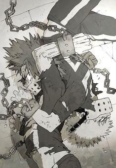 My Hero Academia // BNHA // Eijiro Kirishima // Red Riot // Katsuki Bakugo // Kacchan