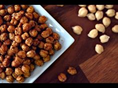 ▶ Crispy & Spiced Garbanzo Beans - Easy Snack Recipe - YouTube