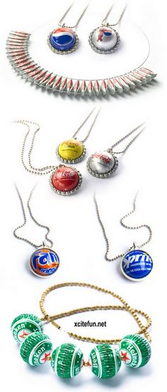 Precious Metal - The Bottle Cap Jewelry : Fashion, Beauty