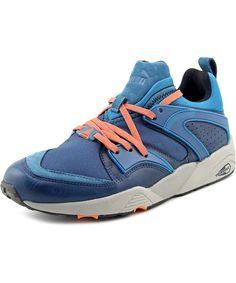 PUMA PUMA BLAZE OF GLORY MEN  ROUND TOE SYNTHETIC BLUE RUNNING SHOE'. #puma #shoes #sneakers