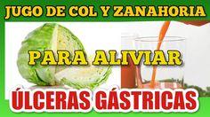 Jugo de Zanahoria y Col para el Tratamiento de la Úlcera Gástrica