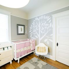 Gray Nursery Design, Pictures, Remodel, Decor and Ideas - page 5