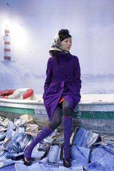 Purple on a little Asian :)